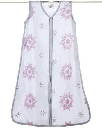aden + anais classic sleeping bag, for the birds - medallion, large