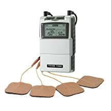 TENS MACHINE (DIGITAL TENS 7000) + 2 EXTRA ELECTRODE PADS FOR PAIN, SPASM, JOINT ACHES, NERVE STIMULATION