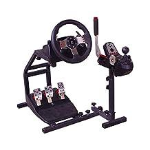 Racing Steering Wheel Stand for PC USB Handbrake Logitech G25/G27/G29/G920 Wheel Pedals Handbrake Not Included CP102