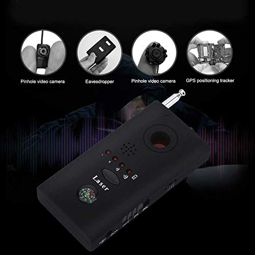 Anti Spy Detector RF Detector & Camera Finder, Bug Detector,GSM Tracking Device for Wireless Audio Bug Hidden Camera Detector