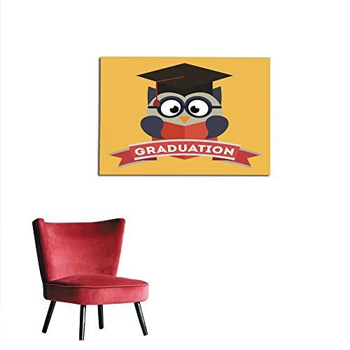 Amazon Homehot Corridor Indoor Living Room Owl Design Mural 48x32 Home Kitchen