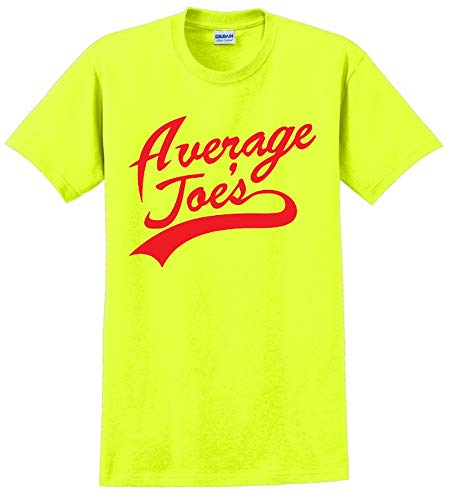 Average Joe Dodgeball Mens TEE Uniform Gym Costume Jersey Funny T-Shirt