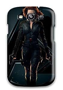 Tpu Shockproof/dirt-proof Black Widow Natasha Romanoff Cover Case For Galaxy(s3)