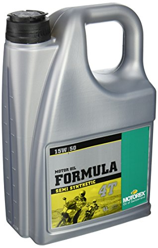 Motorex Formula 4T Oil 15W50 4 Liter (ea) for Motorcycles (ZZ ()