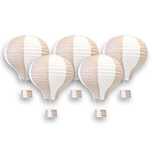 hot air balloon model red - 4