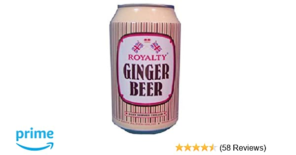Royalty Ginger Beer Drink, 10 1-Ounce Cans (Pack of 24)
