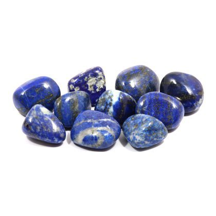 lapis lazuli tumble stone 20 25mm pack of 5 crystalage amazon