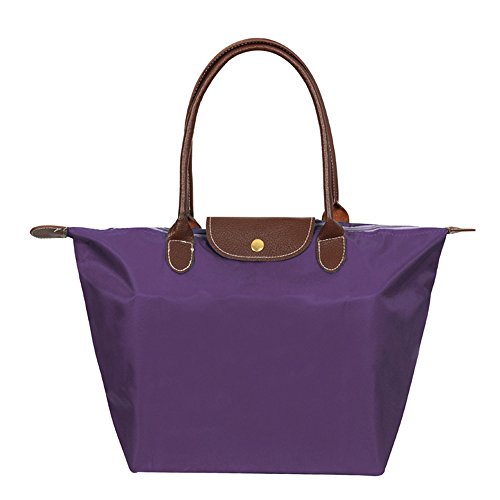 WOMJIA Women's WOMJIA Women's Tote Bag Stylish Waterproof Shoulder purple rwrOqfxnp5