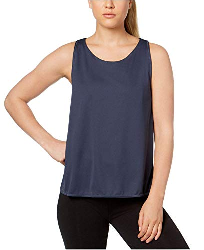 NIKE Breathe Reversible Training Tank Top (M, Thunder Blue/Dark Sky Blue/Dark Sky Blue)