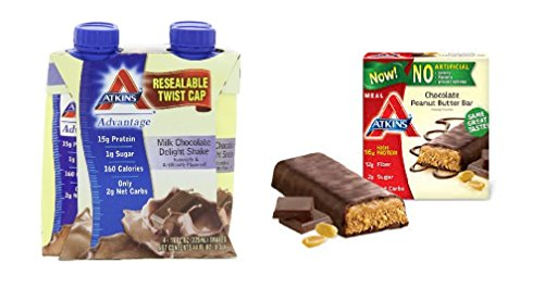 Atkins Weight Loss Value Bundle Ready To Drink Shakes Meal Bars