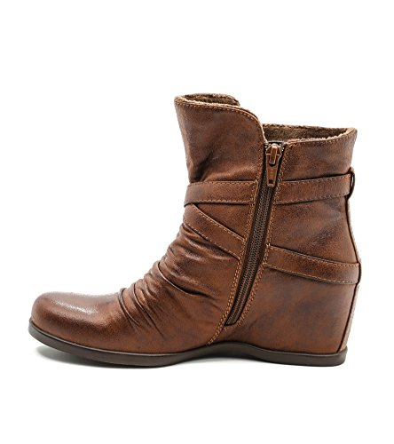 Baretraps Qally Womens Womens Boots Brush Brown