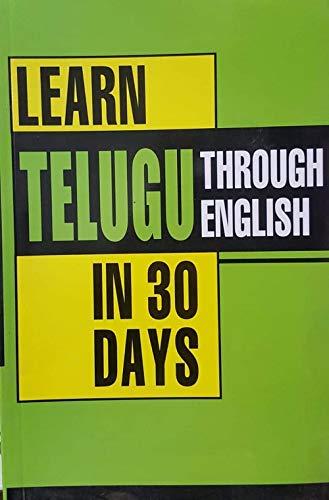 Learn Telugu through English