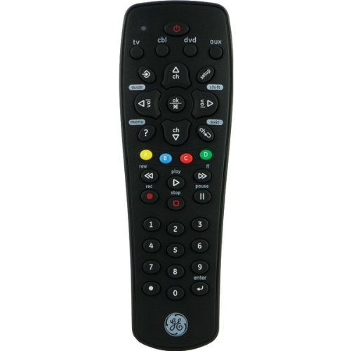 GE - 4-Device Universal Remote with DVR Function