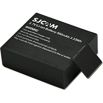 c06adb79f0f Buy SJCAM Spare Battery for SJ4000 SJ4000 WiFi SJ5000 M10 SJ5000 WiFi SJM10  Plus SJX1000 SJ5000x Series Sports Camera Online at Low Price in India