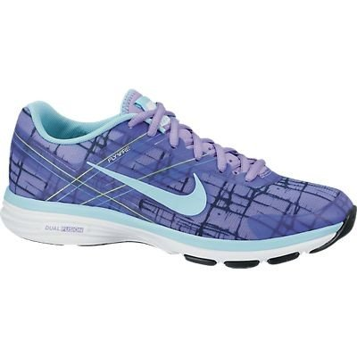 Nike Women's Dual Fusion TR 2 Print Cross Trainers Violet/Ice 7