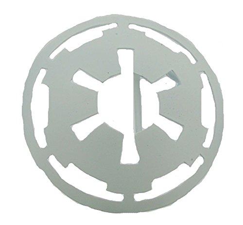 Star Wars - Mens Star Wars - White Imperial Logo Belt Buckle White