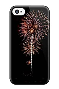 AmandaMichaelFazio Snap On Hard Case Cover Fireworks Photography People Photography Protector For Iphone 4/4s