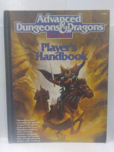 Advanced Dungeons & Dragons Player's Handbook, 2nd