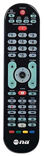 Universal TV Remote Control Smart 6 Function Device Controls 350+ Brands Sound Bar Steaming Back Lit Easy to Program