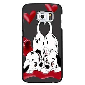 Fantasy 101 Dalmatians Phone Case For Samsung Galaxy S6 Edge Plus 101 Dalmatians Love Pattern