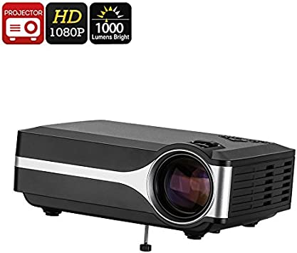 DLP Projector FHD Support 1000 Lumen LED 800x480p Native ...