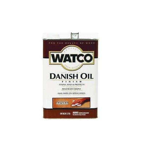 Danish Oil For Wood (RUST-OLEUM 242217 Watco Gallon Natural Danish Oil Wood Finish)