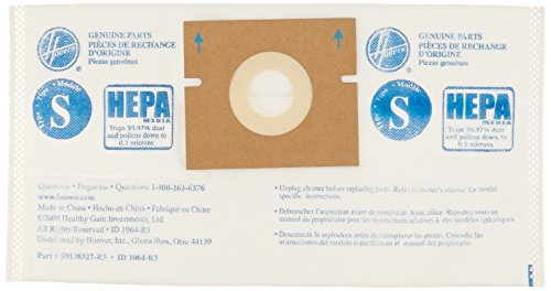 Hoover Paper Bag, S Hepa Constellation (Pack of ()