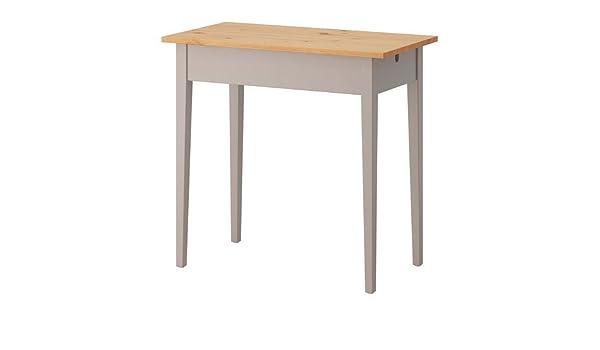 Ikea NORRASEN - Mesa de Ordenador portátil, Gris - 79x74 cm ...