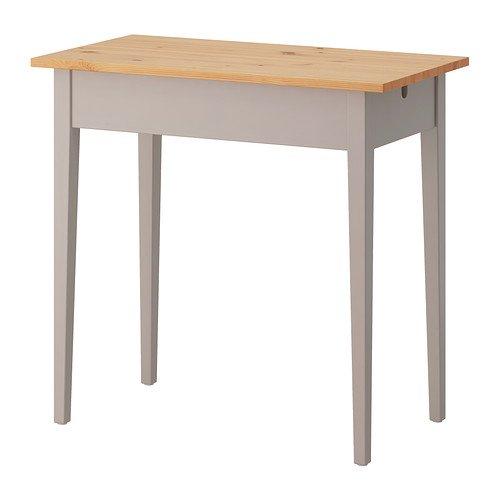 Ikea NORRASEN - Mesa para portátil, 79 x 74 cm, Color Gris: Amazon ...