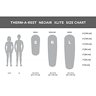 Therm-a-Rest NeoAir Xlite Ultralight Backpacking Air Mattress