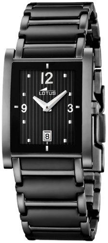 Lotus 15587/2 - Reloj de mujer de cuarzo, correa de acero inoxidable: Amazon.es: Relojes