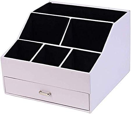Organizador de escritorio con escritorio papelería acabado la cesta del almacenaje for oficina Caja de almacenamiento perfecto for el hogar, estudiantes o con la oficina Organizador de escritorio, est: Amazon.es: Hogar