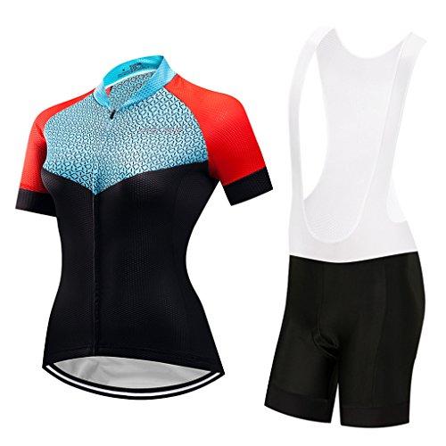 Women's Jerseys Set Bicycle Clothing Bib Shorts Pant Bike Wear Cycling Sports