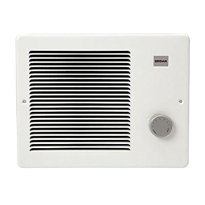 Broan 170 Wall Heater, 500/1000 Watt 120 VAC, White Painted Grille