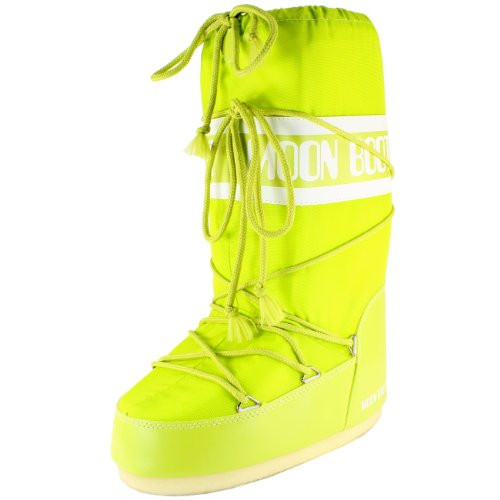 Boot originali Snow Tecnica Nylon Marrone Moon Boots Donna RwfPqdxC