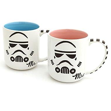 Mr and Mrs Storm Trooper Mug Set - Star Wars