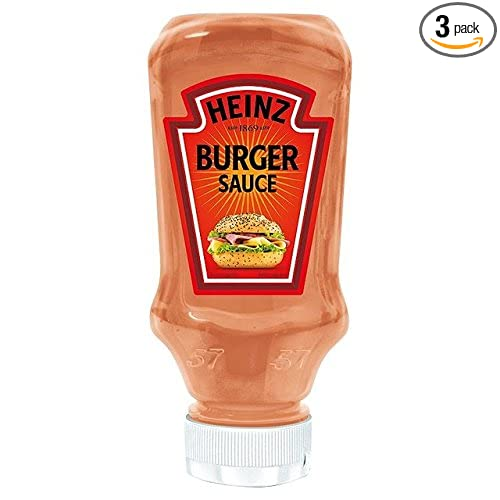 Amazon.com : Heinz Burger Sauce 7.90 Ounces (225g) (3 Pack) : Ketchup : Grocery & Gourmet Food