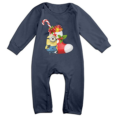 [VanillaBubble Minions And Christmas For 6-24 Months Infant Particular T Shirt Navy Size 12 Months] (Mileys Halloween Costume)