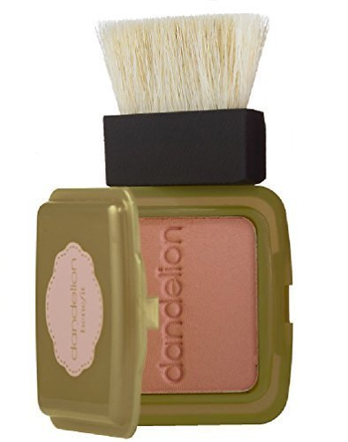 Benefit Cosmetics Dandelion Box o' Powder Blush mini wirh brush in Baby-Pink 0.1 oz