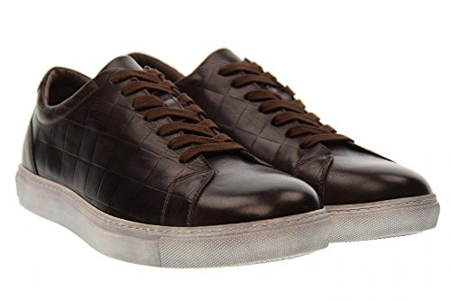 Basses Black Giardini Brun 301 Noir Brown A705370u Nero Homme Baskets qBTUwanva