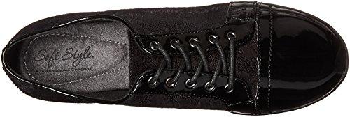 Ville Black Femme Hush à Gris Lacets Puppies Faux Patent Paisley Suede Chaussures Gris pour de Black ttwBUF