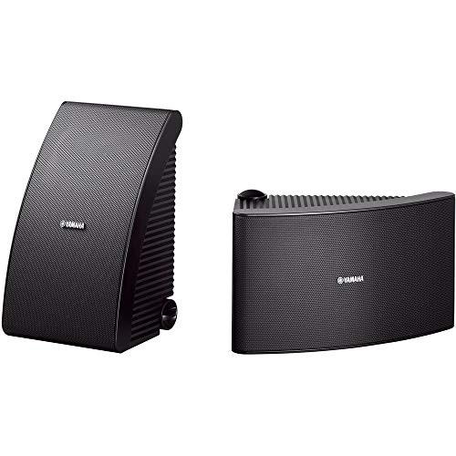 """Yamaha 6-1/2"""" 150-Watt Passive 2-Way Speakers (Pair) Black NS-AW592BL"""