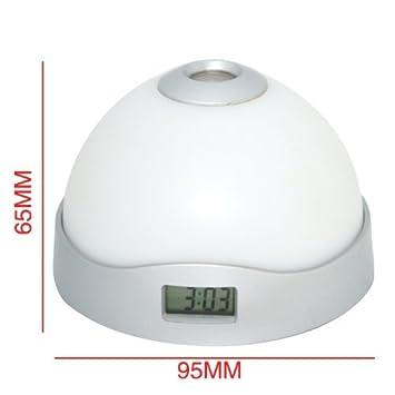 Amazon.com: Moda LED color-change Proyección Reloj ...