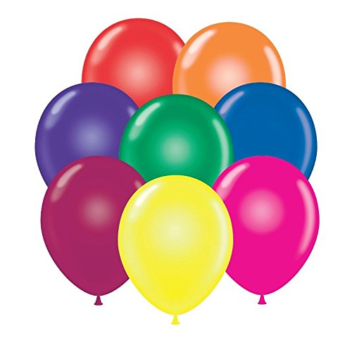 Balloons 17 Inch PARTY-TEX Premium Assortment Latex Pkg/50