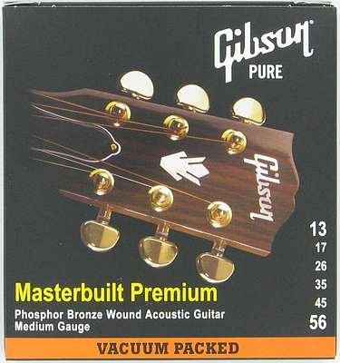 Gibson Gear SAG-MB13 Coated Phosphor Bronze Electric Guitar Strings, Heavy