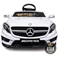 ATAA CARS Mercedes GLA Voiture électrique pour Enfant avec Télécommande - Blanc