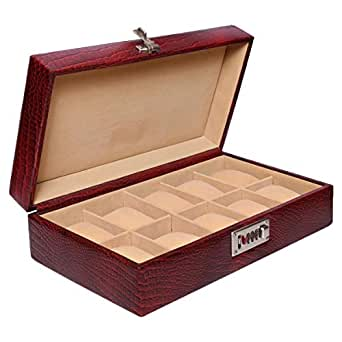 Laveri Watch Box, Red