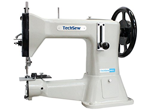 TechSew 3650HD Heavy Duty Leather Industrial Sewing Machine with Assembled Table & Servo Motor by TechSew