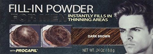 Irene Gari LISA RACHEL Cyg Fill In Powder Men, Dark Brown