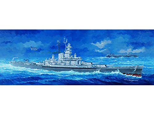 (Trumpeter 1/350 05306 USS Massachusetts BB-59)